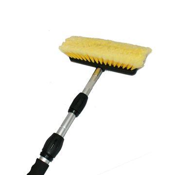 Image de Brosse de lavage avec manche télescopique pour automobile