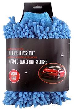 Image de Mitaine de lavage en microfibre