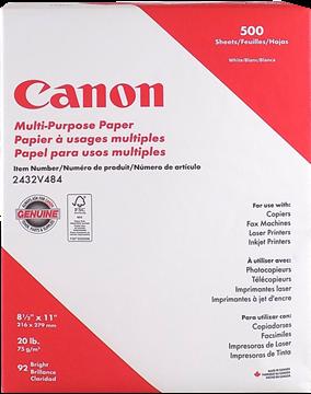 Image de Canon Papier d'imprimante 500f/pqt