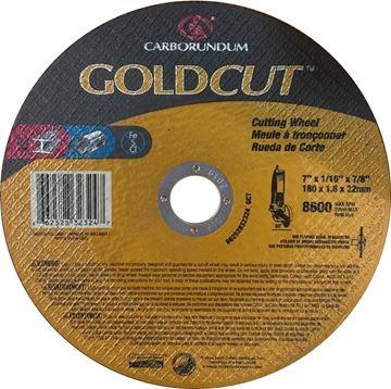 Meule à couper 7 x 1/16 x 7/8 GOLDCUT