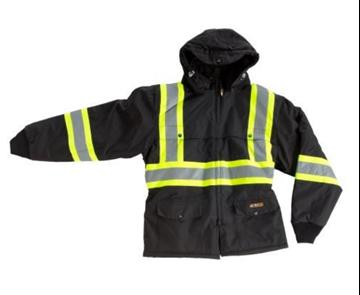 Image de Manteau d'hiver avec bande réfléchissante