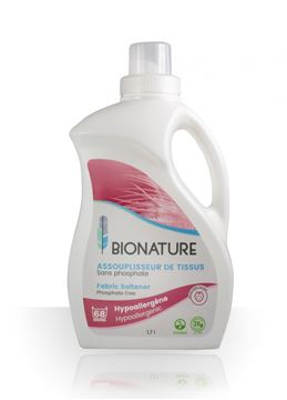 Image de Bionature Assouplisseur de tissus 3.78 litres