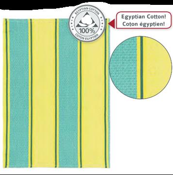 Image de Linge à vaiselle en cotton égyptien (nouvelle couleur)