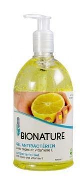 Image de Bionature gel antibactérien aux citrons BIO-420