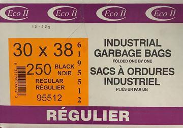 Image de Sac à déchets 30x38 noir régulier