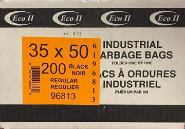 Image de Sac à déchets 35x50 noir régulier