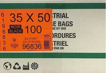 Image de Sac à déchets 35x50 extra-fort noir