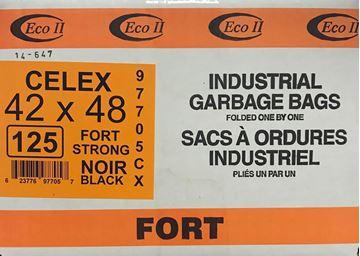 Image de Sac à déchets 42x48 fort noir