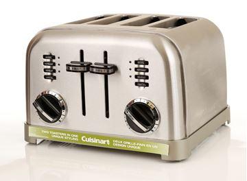 Grille-pain 4 tranches Métal classique Cuisinart