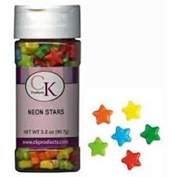 Candy Shapes Neon Stars 3.2 oz de CK Products   78-23353