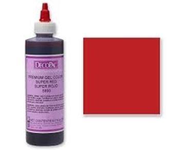 Premium Gel Couleur Super Red de DecoPac | 5890