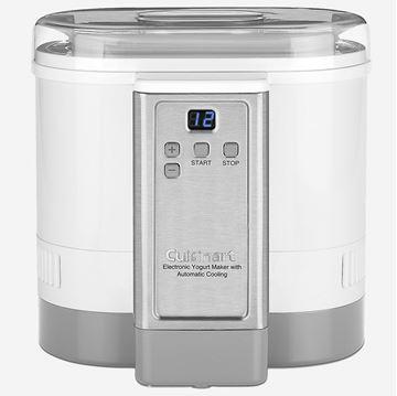 Yaourtière électronique à refroidissement automatique Cuisinart | CUIS CYM-100C