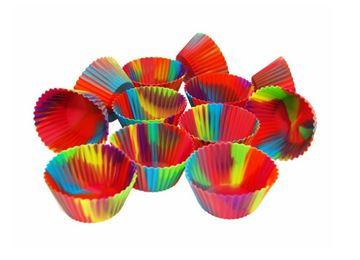Ensemble de 12 moules à muffin en silicone Starfrit | STAR 080843006