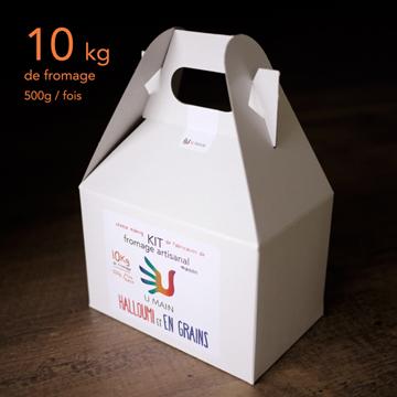 Kit de fabrication de fromage artisanal - Halloumi et En grains de U MAIN |