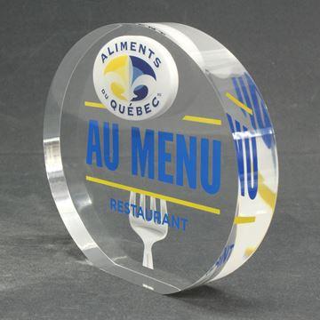 Aliment Québec  - acrylique
