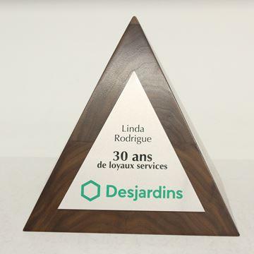 pyramide de bois - desjardins