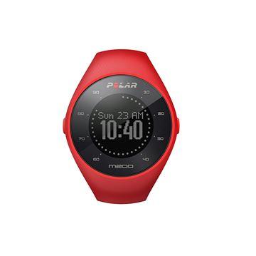 POLAR - Montre GPS de course à pied avec fréquence cardiaque au poignet - M200 - Unisexe - Rouge