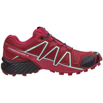 SALOMON - Chaussure de course en sentier - SPEEDCROSS 4 W - femme - rose-noir-vert