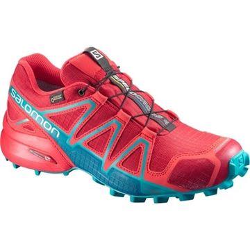 SALOMON - Chaussure de course en sentier - SPEEDCROSS 4 GTX - femme - rose/bleu
