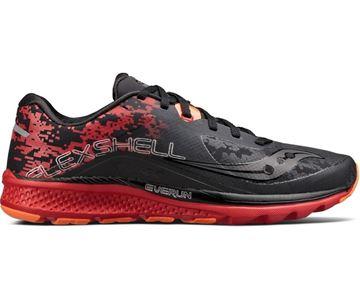 SAUCONY - Chaussure de course de route - KINVARA 8 RUNSHIELD - Homme - Noir-rouge