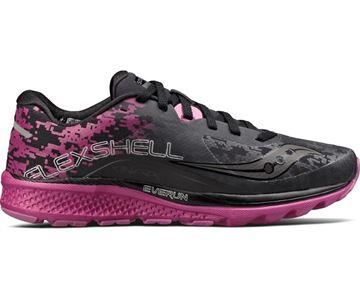 SAUCONY - Chaussure de course de route - KINVARA 8 RUNSHIELD - Femme - Noir-rose