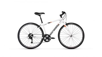 Rocky Mountain - Vélo hybride - RMB RC_30 COMFORT BIKE - BLANC - LARGE