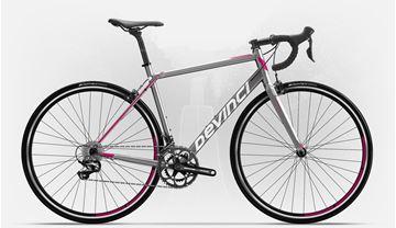 DEVINCI - Vélo de route - SILVERSTONE 2 - Femme - Charcoal-Rose - Médium