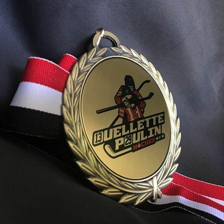 Image de Médaille - Gravée/Imprimée - Ouellette Poulin