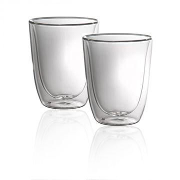 Image de Ensemble de 2 verres cappuccino à double paroi duetto