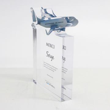 ADM -Trophée d'acrylique