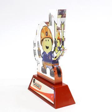 Gougeon - trophée d'acrylique