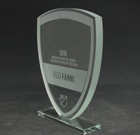 Image de Trophée  - Cristal - Soccer