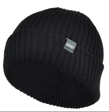 Image de Tuque pour homme en tricot noir