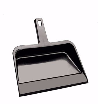 """Image de M2 porte-poussière plastique 12"""" noir"""