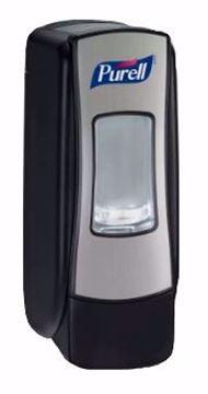 Image de Distributeur Purell 700 ml noir / chrome