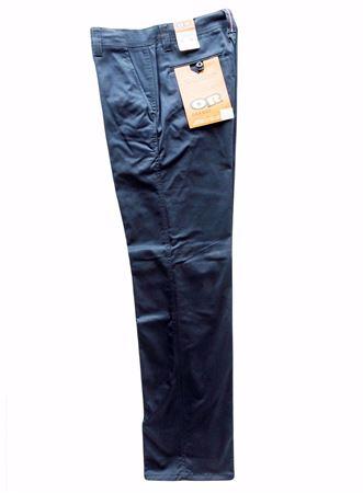 Image de Pantalon extensible travail Orange River marine ou noir