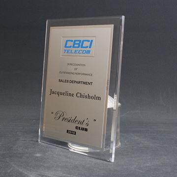 CBCI - plaque acrylique claire