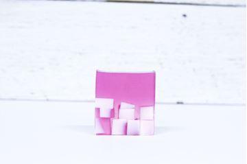 Image de Savon à la glycérine framboises noires et vanille 150gr (Flora)