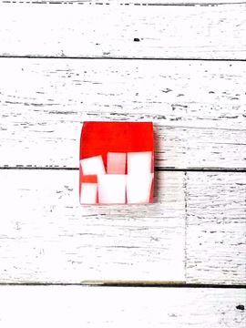 Image de Savon à la glycérine rouge passion 150 gr ( Flora)
