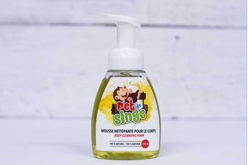 Image de Pet de singe mousse nettoyante pour le corps 250 ml (Flora)