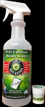 Image de Bouteille Solu-net extra 750 ml avec capsule unidose concentré 20 ml