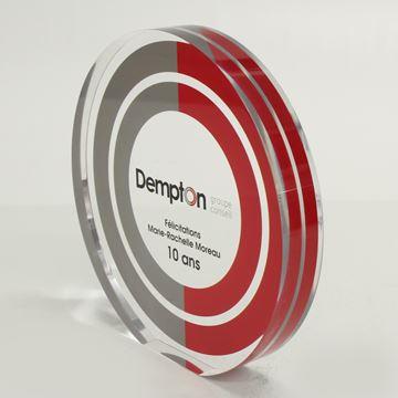 Dempton - Acrylique sur mesure