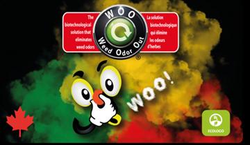 Image de Weed odor out ( Élimine les odeurs de cannabis )  bouteille 215 ml