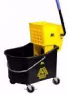Image de Combo essoreuse descendante 32 pintes noir et jaune M2