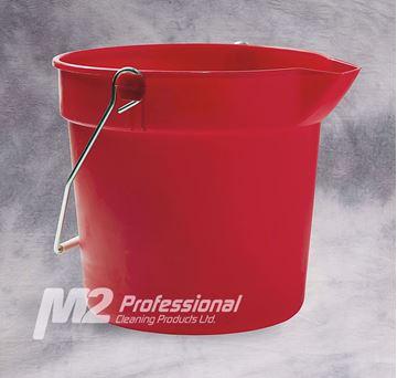 Image de M2 chaudière avec bec verseur 10 PTE rouge