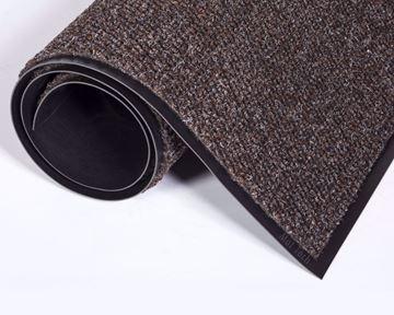 Image de Tapis d'entrée  brun 3 pieds large (vendu au pied linéaire)