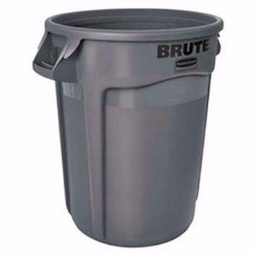 Image de Poubelle brute grise 20 gallons