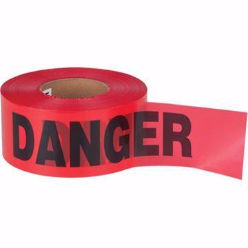 Image de Ruban pour barricade danger ( rouge)