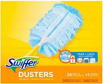 Image de Recharge Plumeaux Swiffer Dusters non parfumées 24 unités + 1 manche