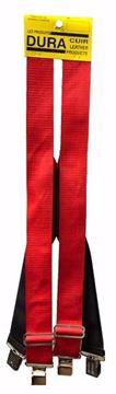Image de Bretelle rouge en nylon et élastique